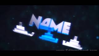 Free 3D Intro | Polygon Floating Space Sync 3D Intro Template