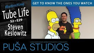 Interview with a Book Author | Steven Keslowitz | Tube Life S02 * E29 on Puša Studios!