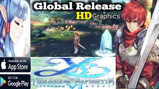 Ys VI Online : The Ark of Napishtem Global Release ARPG Game (Android/IOS) Android Bilzee Gaming