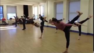 Matt Mattox Freestyle Jazz Dance Technique/Choreography - Taught by Bob Boross
