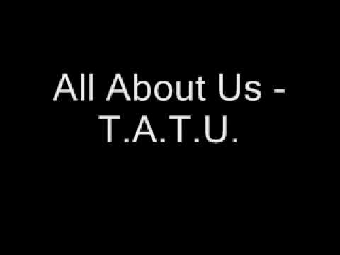 New - All About Us - T.A.T.U.