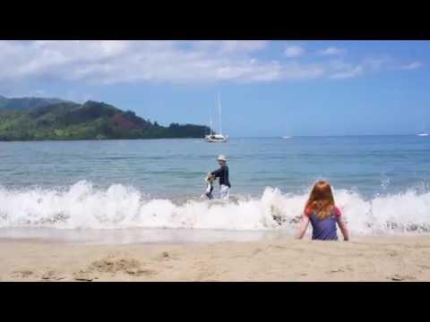 Hanalei Bay, Haena, Tunnels, and Ke'e State Beach Parks (Kauai Hawaii)
