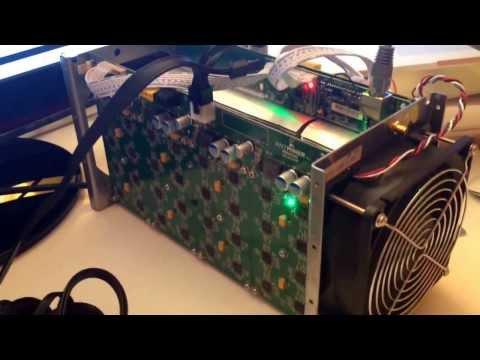 Produrre bitcoin con il mining test e unboxing antminer s1 asic server