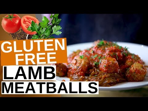 Gluten Free Lamb Meatballs
