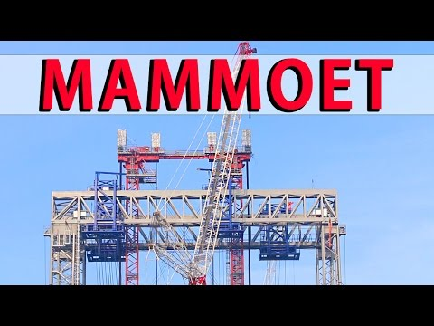1,800 Tons Mammoet Heavy Lift Highest Gantry Crane ST³ Offsh