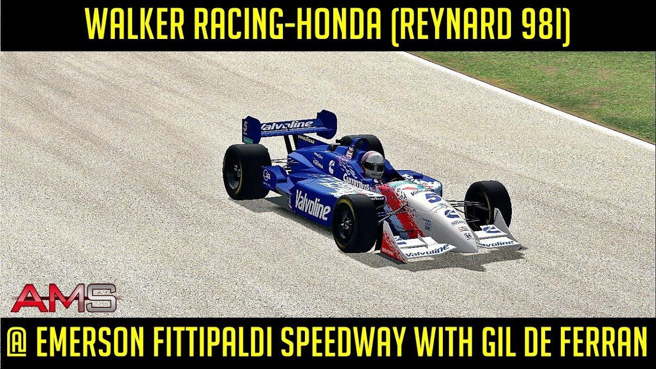 [AMS] Walker Racing-Honda (Reynard 98i) @ Emerson Fittipaldi Speedway with  Gil de Ferran