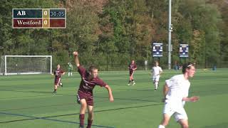 Acton Boxborough Boys Varsity Soccer vs Westford 9/11/17