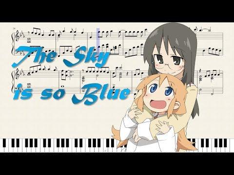 Sora ga Konna ni Aoi to wa (Nichijou Ending Episode 23) Sheet music