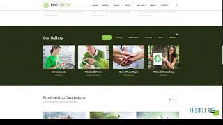 Eco Green - HTML Template for Environment, Ecology and Renewable Ener