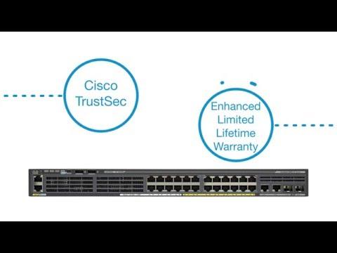 Cisco Catalyst WS-C2960X-48TD-L 48 port Gigabit Switch