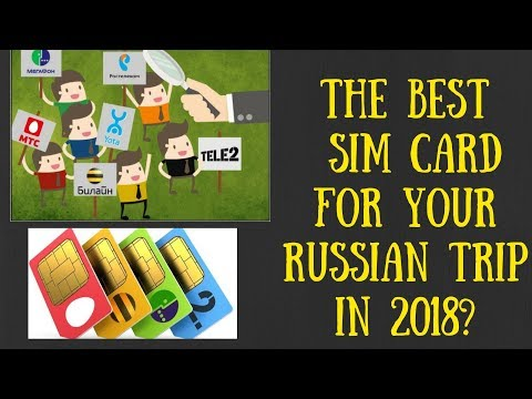 Russian SIM-Card best choice! Life-Hack from Galina Moscow