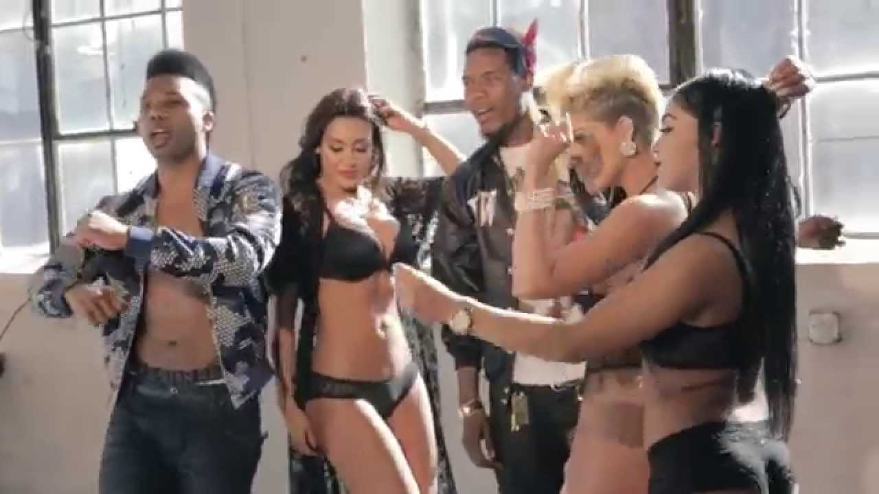 Fetty Wap & Yalee Pretty Girl Dance Video Shoot (Behind The Scenes ...