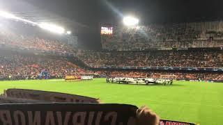 Valencia CF- Young Boys. Himno UCL