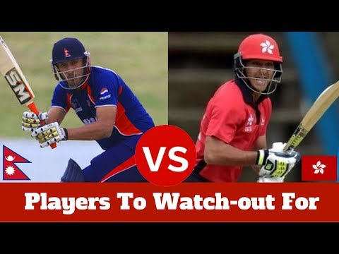 Players to watch-out For - Nepal vs Hong Kong - ICC World Cricket League Championship 2017
