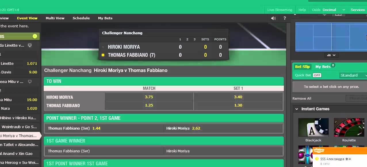 стратегия ставок на теннис брейк