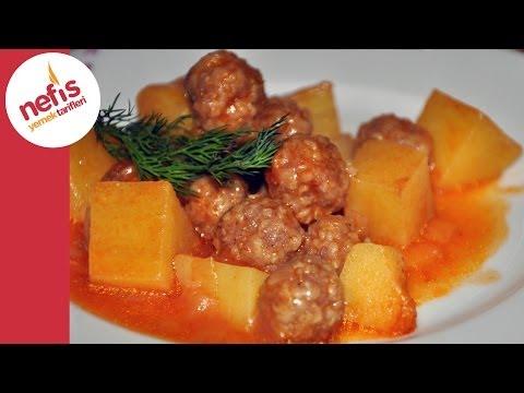 patatesli sulu köfte yemeği  nefis yemek tarifleri
