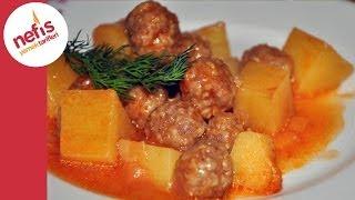 Patatesli Sulu Köfte Yemeği | Nefis Yemek Tarifleri