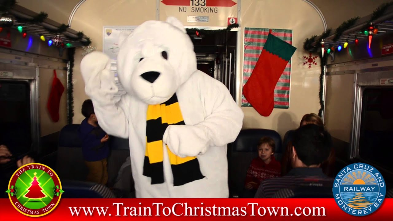 train to christmas town 2013 commercial departs from watsonville youtube - Train To Christmas Town