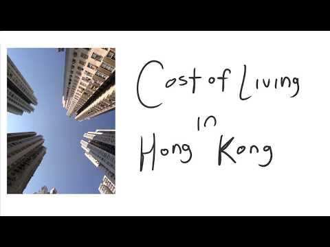 Expenses and Cost of Living in Hong Kong