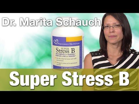 Preferred Nutrition Super Stress B Complex Caps with Dr.  Marita Schauch