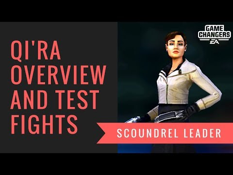 Qi'ra is here and she is prepared!  Is she the leader the scoundrels needed?