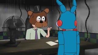 five nights at Freddy's animáció magyar szinkronnal part 1