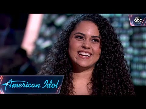 Britney Holmes Gets a Golden Ticket – American Idol 2018 on ABC