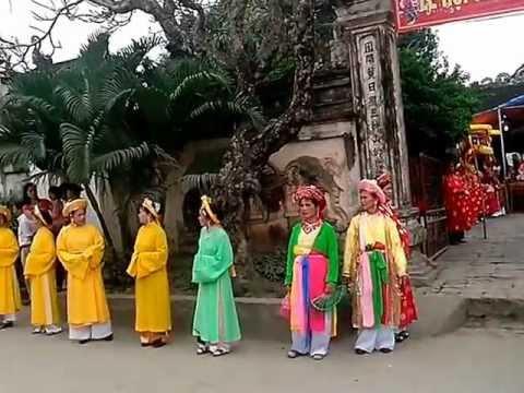 Lễ Hội Đàn Viên (đón Đoàn kiệu và Lễ của thôn Trung thôn Bãi 10-02 âm lịch)