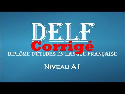 【delf-blanc】-niveau-a1-(corrigé)