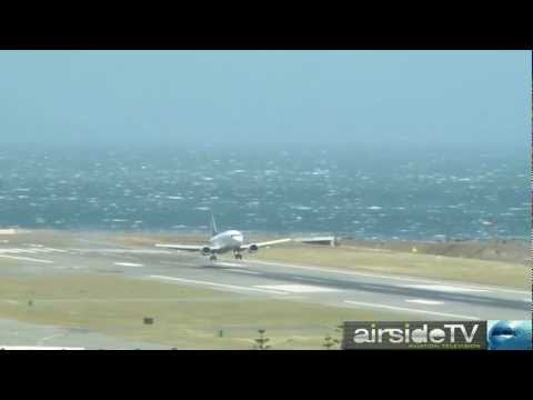 Extreme Airliner Landings At Wellington Short Version