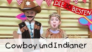 Cowboy und Indianer - Singen, Tanzen und Bewegen || Kinderlieder Video