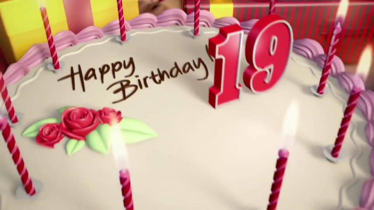 Днем, открытка с днем рождения дочки 19 лет
