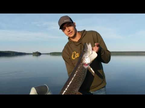 Walleye Fishing On Lac Seul, Maukwa Lodge Ontario Canada 2019