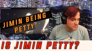 Gambar cover Jimin Being Petty Reaction // Ellis Reacts #841 // Sassy Jimin from BTS showing a different side.