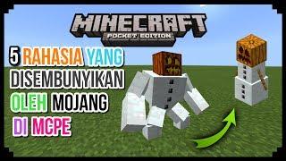 5 Rahasia Yang Disembunyikan Oleh Mojang Di Minecraft PE (Pocket Edition)   Part 2