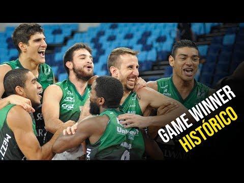 Game Winner Histórico! Duda Machado - Vasco 103 x 104 Bauru