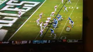 Golden Tate first TD as an eagle