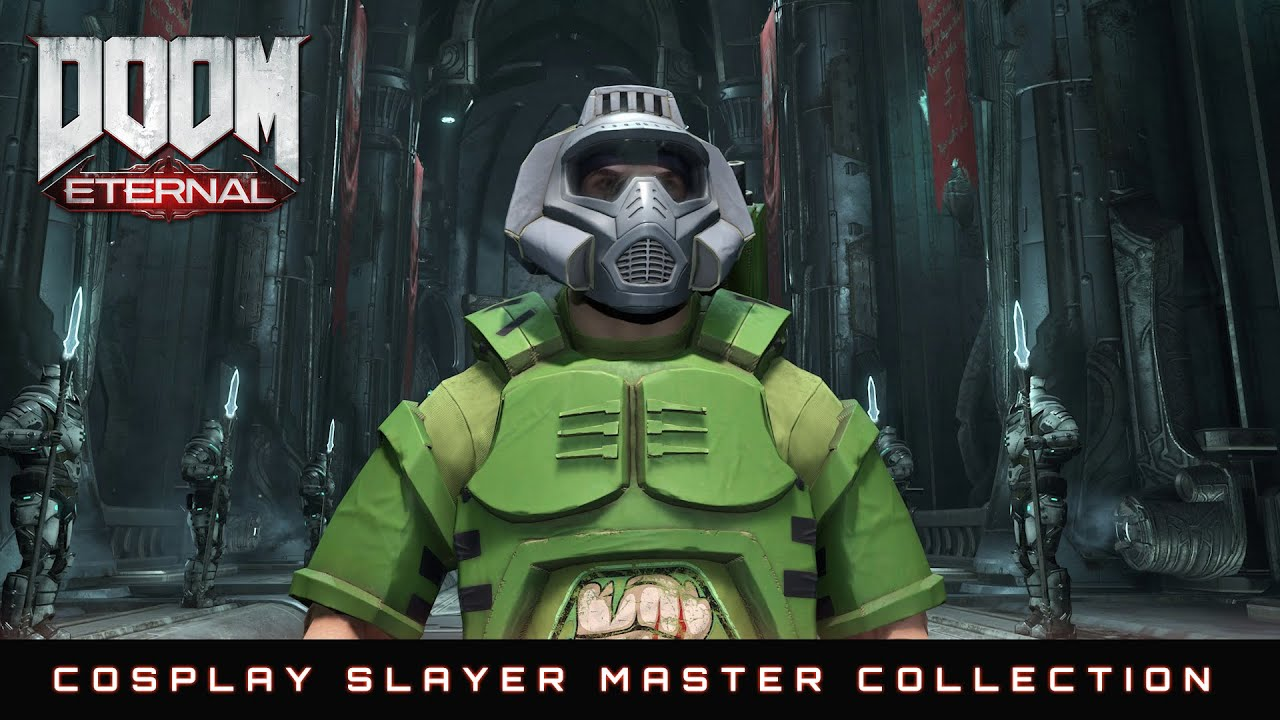 Doom Eternal Cosplay Slayer Master Collection Youtube