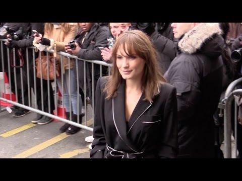 Christina Cordula, Fauve,  Estelle Lefebure, Ana Girardot  At 2017 Jean Paul Gaultier haute couture