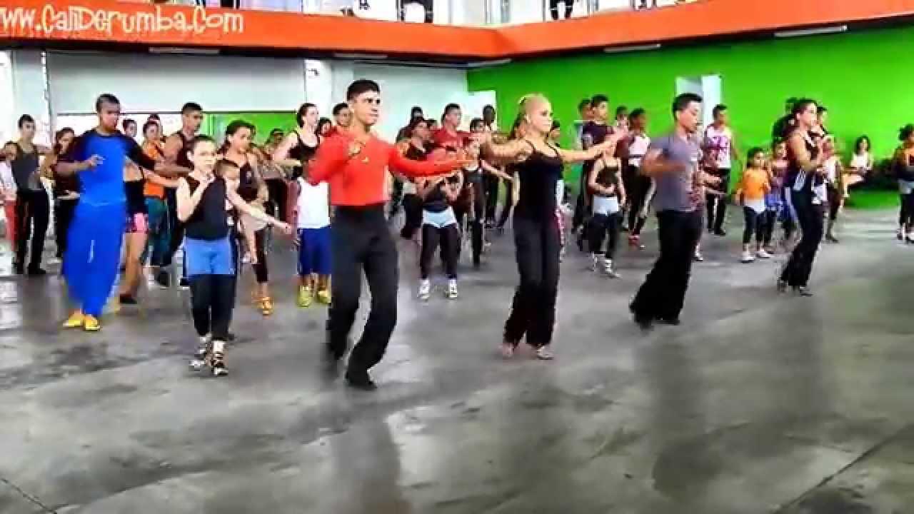 Bailando SAMBA Baile Deportivo