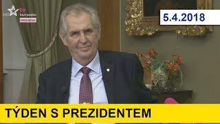 Týden s prezidentem 5.4.2018
