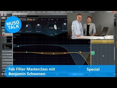 VST Plug ins fürs Mixing & Mastering Fab Filter Pro-Q, Pro-R, Masterclass