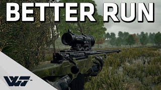 BETTER RUN - The AWM is loaded - PUBG