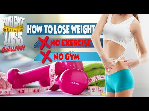 Best Way To Lose Weight Without Exercise