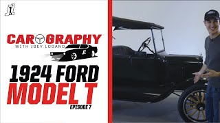 NASCAR Champion Joey Logano Teaches How to Drive '24 Ford Model T -Carography with Joey Logano Ep. 7