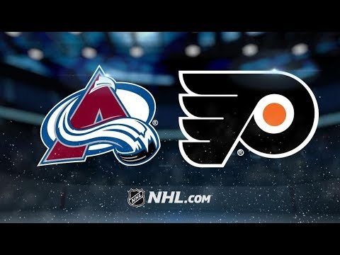 Colorado Avalanche vs Philadelphia Flyers – Oct.22, 2018 | Game Highlights | NHL 18/19 | Обзор матча