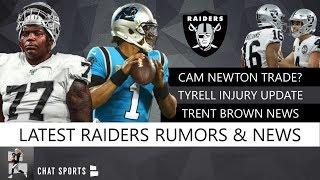 Cam Newton Trade? Raiders Rumors On Tyrell Williams Injury, Sign LeGarrette Blount Or Bo Scarbrough?