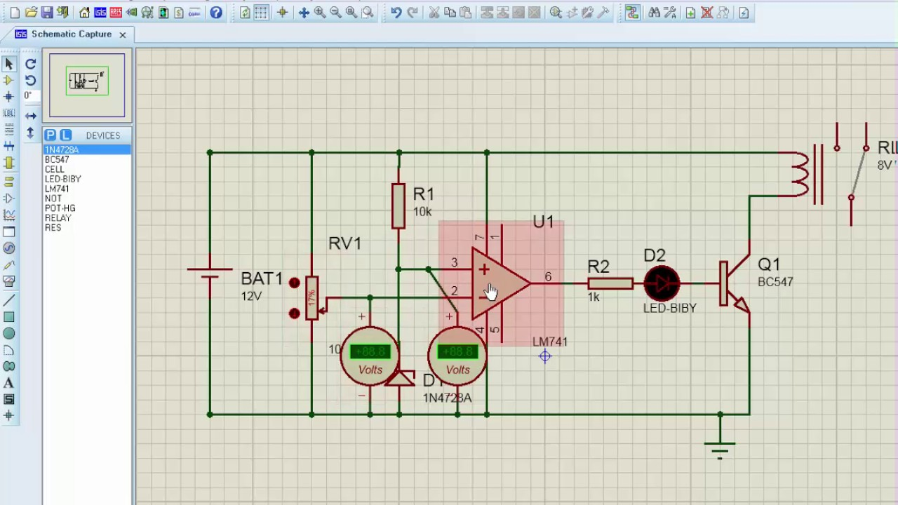 Lowbattery Cut Off Circuit Youtube. Lowbattery Cut Off Circuit. Wiring. Disconnect Battery Cut Off Wiring Diagram At Scoala.co