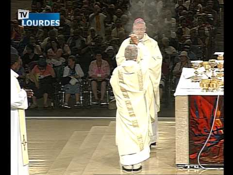 Lourdes Messe Internationale du mercredi 15 juil. 2015-International Mass (France)