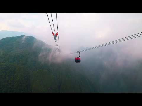 Fansipan mountain to sapa cable car, Vietnam